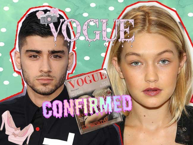 "Yesterday apparent ""leaked"" photos from a Zigi Vogue shoot were taking over the twittersphere which just sounded too good to be true. Naturally, the fangirls were right (once again) and this morning photos from the actual gorgeous shoot have officially been released!"