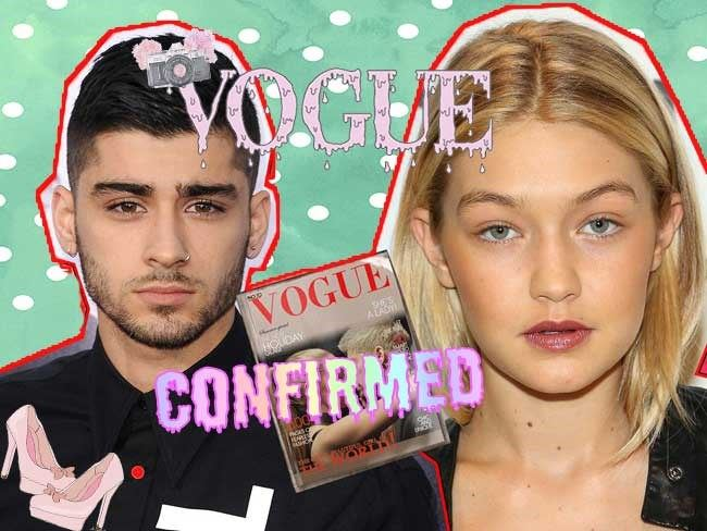 """Yesterday apparent """"leaked"""" photos from a Zigi Vogue shoot were taking over the twittersphere which just sounded too good to be true. Naturally, the fangirls were right (once again) and this morning photos from the actual gorgeous shoot have officially been released!"""