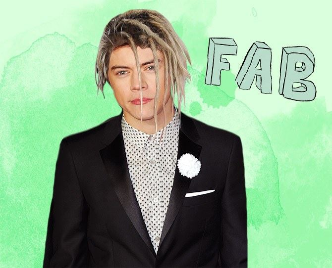 We wondered what other celebs would look like sporting the dreads, and we must say some of these results are terrifying... Like **Harry Styles** for instance. Plz don't dread your locks. Ever.