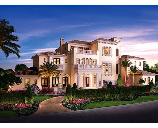 HELLO, DREAM LIFE! An actual thing that is happening rn: property developers are building magical houses within the grounds of Disney World for real insanely rich people to live in. ~starts saving~ *Images: Golden Oaks/Disney World Resorts*