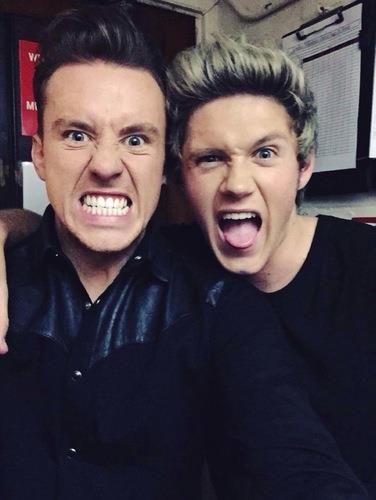 Danny Jones & Niall Horan | Twitter