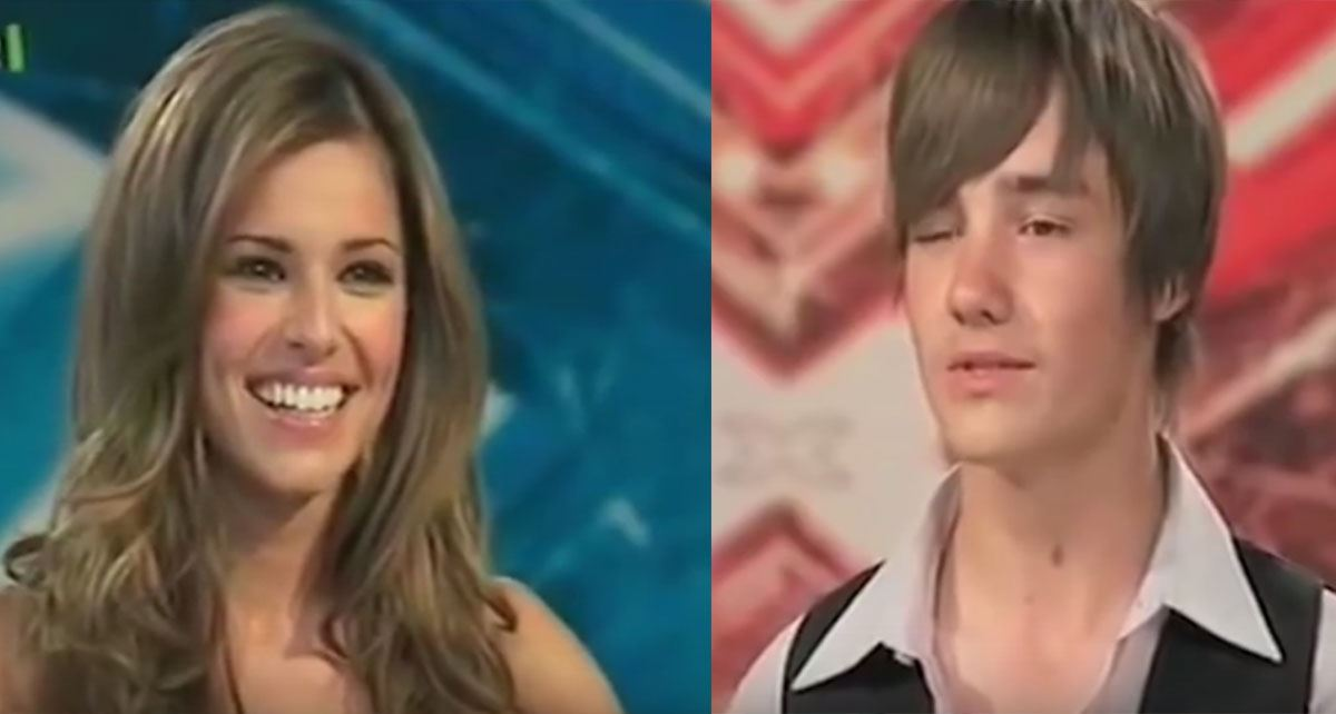 **2008** Ah, love at first sight… literally. Liam and Cheryl first caught each other's eye back in 2008 at his FIRST *X Factor* audition.
