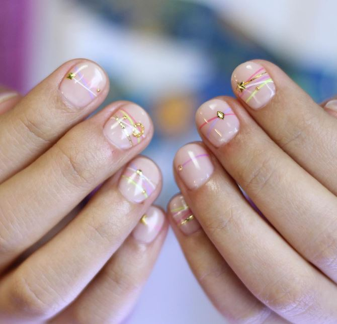 Fresh out of South Korea are the new ~bracelet nails~ and oh ma gawd these are pretty.