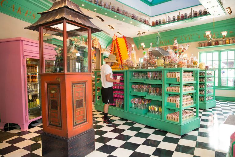 Filled with the most delicious, tantalising sweets that we ever did hear of, Honeydukes is open for biz at The Wizarding World of Harry Potter in Florida.