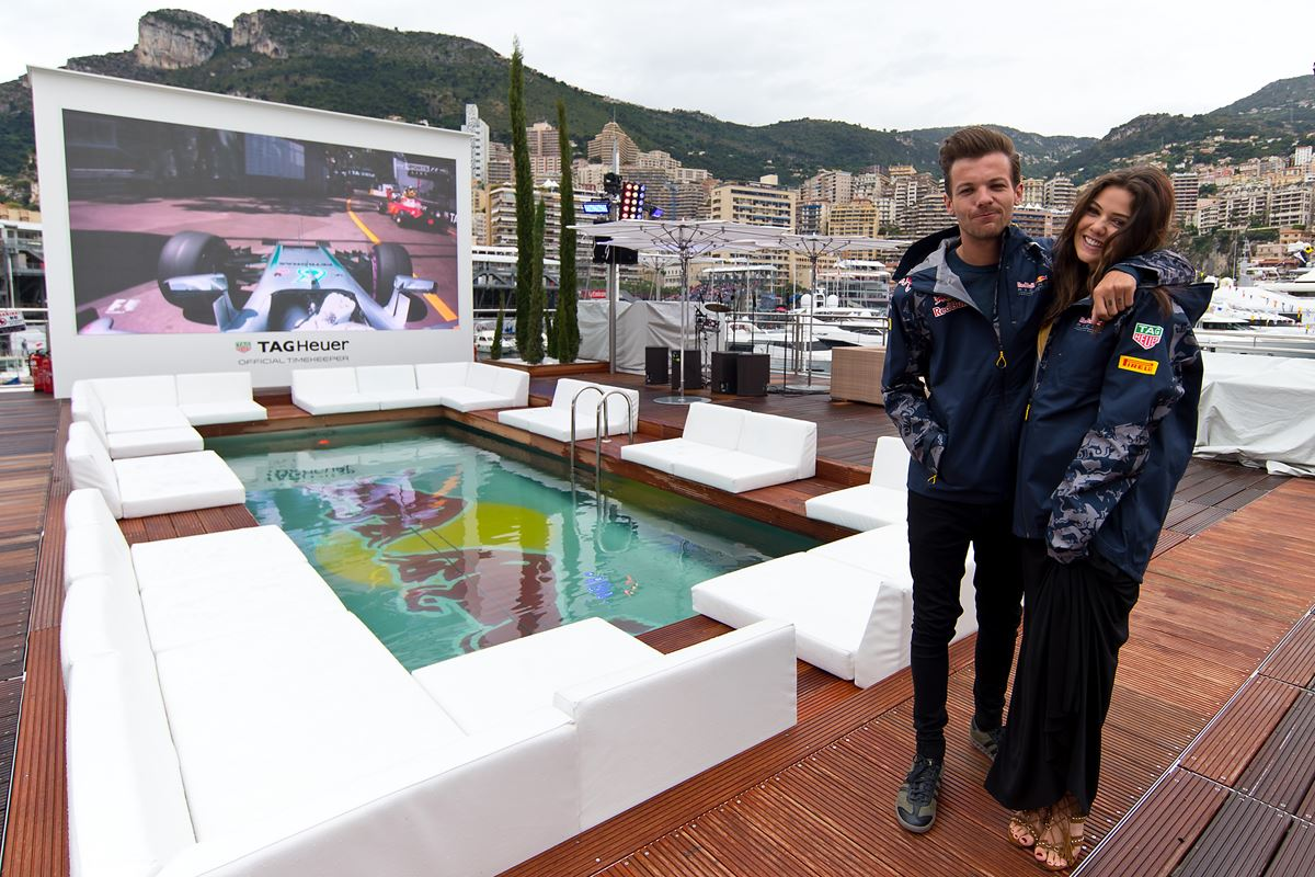 [Louis](http://www.dolly.com.au/tags/louis-tomlinson) and Danielle arrived at the annual F1 Grand Prix in Monaco looking ~very~ cute.