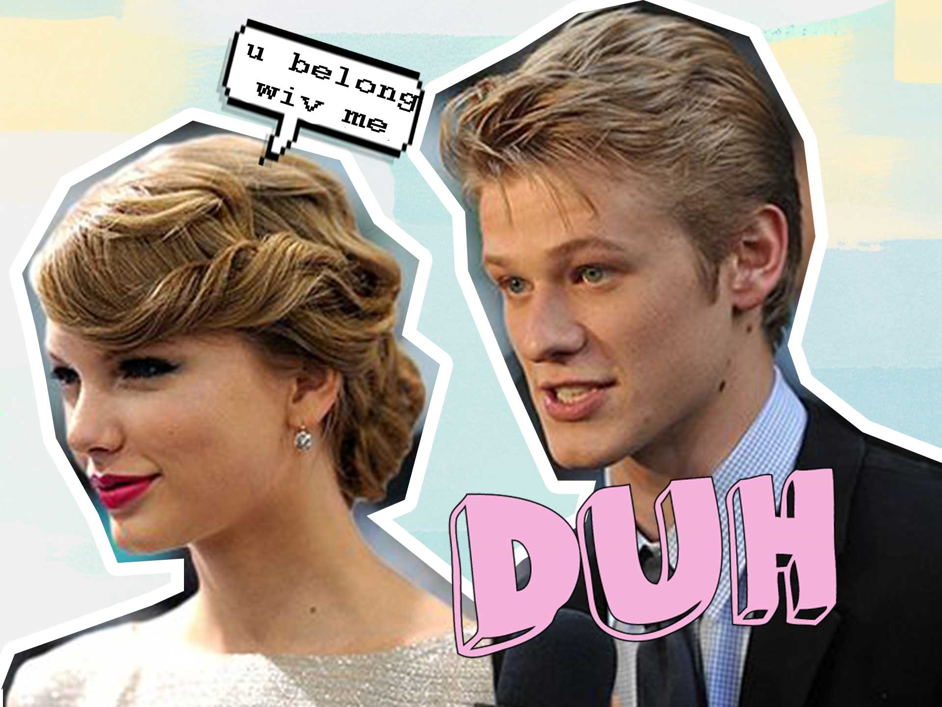 "**Lucas Till March 2009-April 2009** You may recognise Lucas from Taylor's ""You Belong With Me"" film clip. The relationship was a GRANDE TOTAL of a month, so there was no brutal revenge song about this bub."