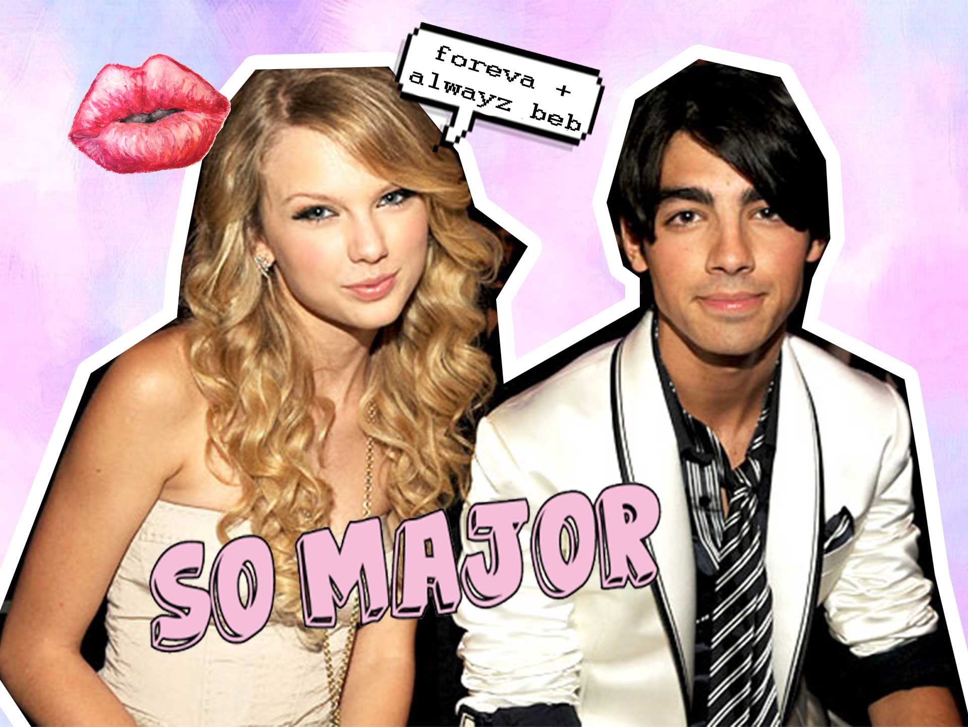 "**Joe Jonas July 2008-October 2008** Joe brutally broke up with Taylor over a 27-second phone call, which inspired her to go on and write ""Last Kiss"" and ""Forever and Always."" Both were pretty harsh, but Tay ended it on a nice note with ""Holy Ground."" Ahh first loves, right?"