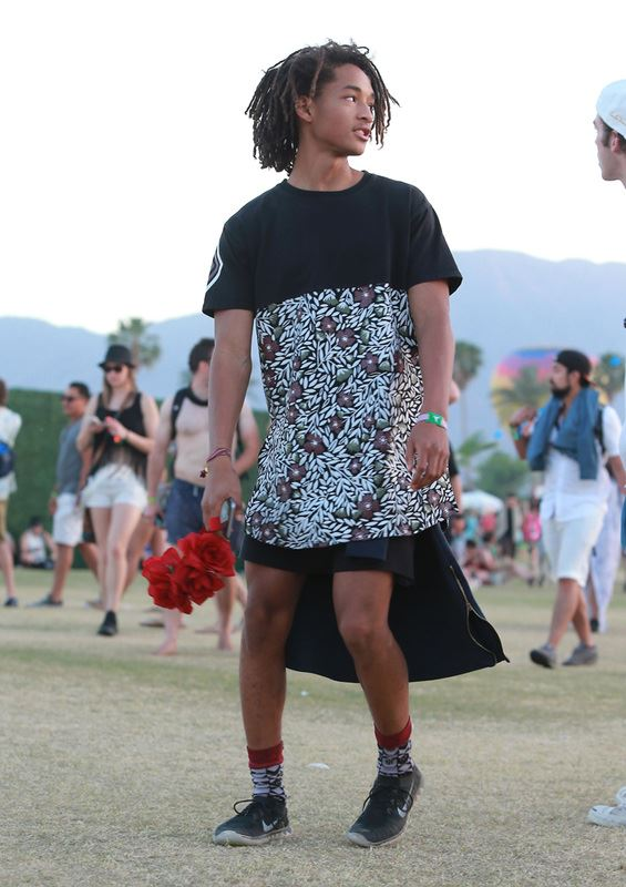**Jaden Smith** is no stranger to pushing the fashion boundaries, but his love affair with wearing dresses has always had us maaaajorly confused.