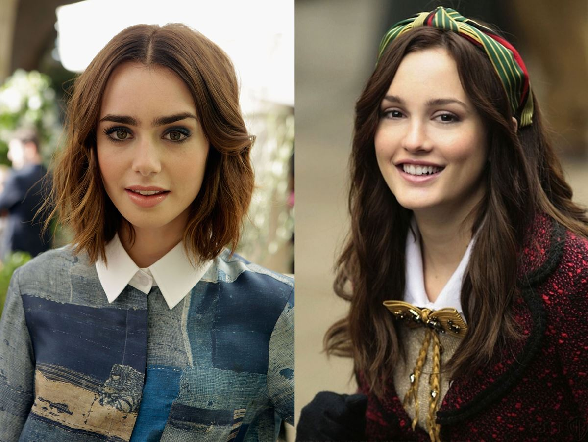 Lily Collins could've been Blair Waldforf (Leighton Meester) in *Gossip Girl*. Just let that sink in...