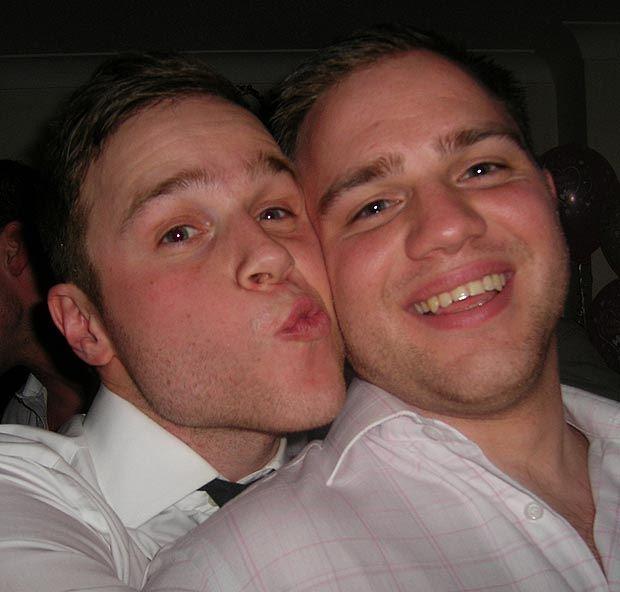 **Olly & Ben Murs** Aww!