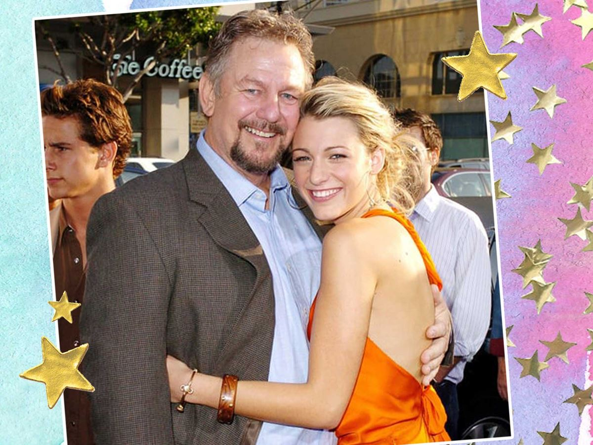 **1. Blake Lively.** Blake's daddio Ernie Lively was an actor in the '80s who appeared in the OG *Dukes of Hazzard* AND played Blake's dad in the *Sisterhood of the Traveling Pants* movies. UM CUTE!