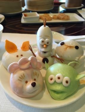 If you love dim sums, and you are obsessed with Disney... then this will excite you *and* leave you kind of disturbed. But in a good, delicious way.