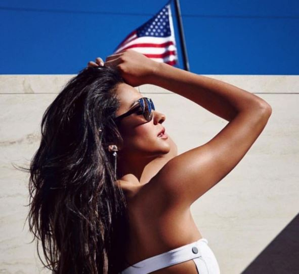 [Shay Mitchell](http://www.dolly.com.au/tags/shay-mitchell) might be Canadian, but that didn't stop her from getting all sorts of patriotic on America's birthday.