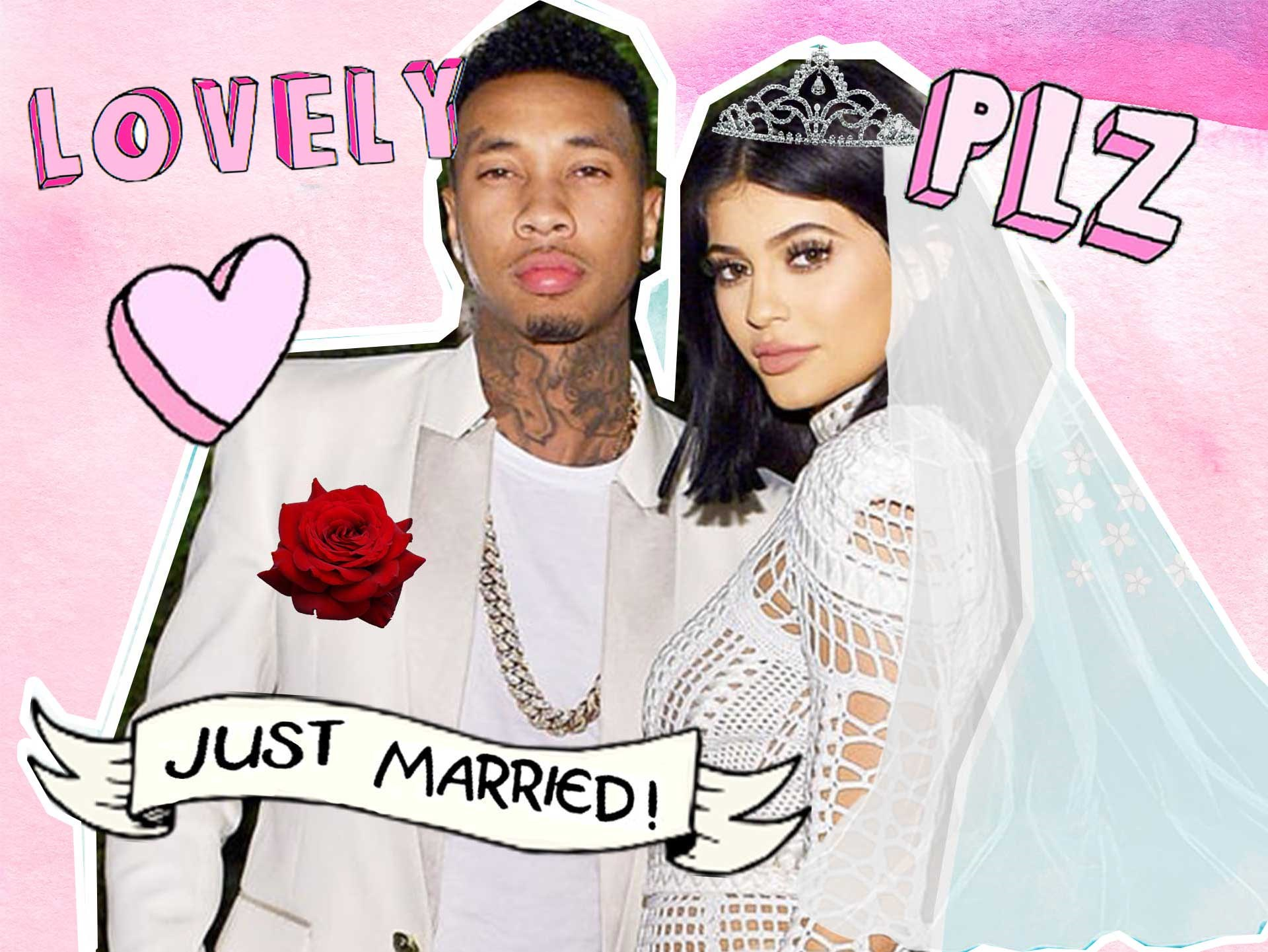 With all the hype surrounding Kylie and Tyga's [~supposed~ engagement/wedding](http://www.dolly.com.au/celebrity/kylie-jenner-married-to-tyga-confirmed-she-is-not-engaged-11993)... we got to thinking just how epic their wedding would actually be. Kylie is basically Kim 2.0, and her wedding was insane in the membrane. So, here's everything we predict to go down at the ceremony of #Kyga.