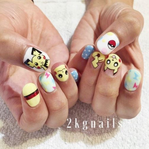 These Pokémon Go inspired nails are taking over Instagram, and we must say we're impressed.