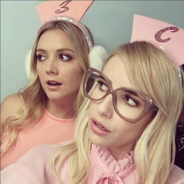 With Chanel and Chanel #3 (aka Emma Roberts and Billie Lourd) giving us a sneak peek at the costumes for season 2 while [celebrating Billie's 24th birthday on set](http://www.dolly.com.au/lifestyle/scream-queens-behind-the-scenes-photos-season-2-12097) recently, it made us think of all those ~*aMaZiNg*~ outfits from season 1. So, let's take a stroll back down ~murder~ lane shall we...