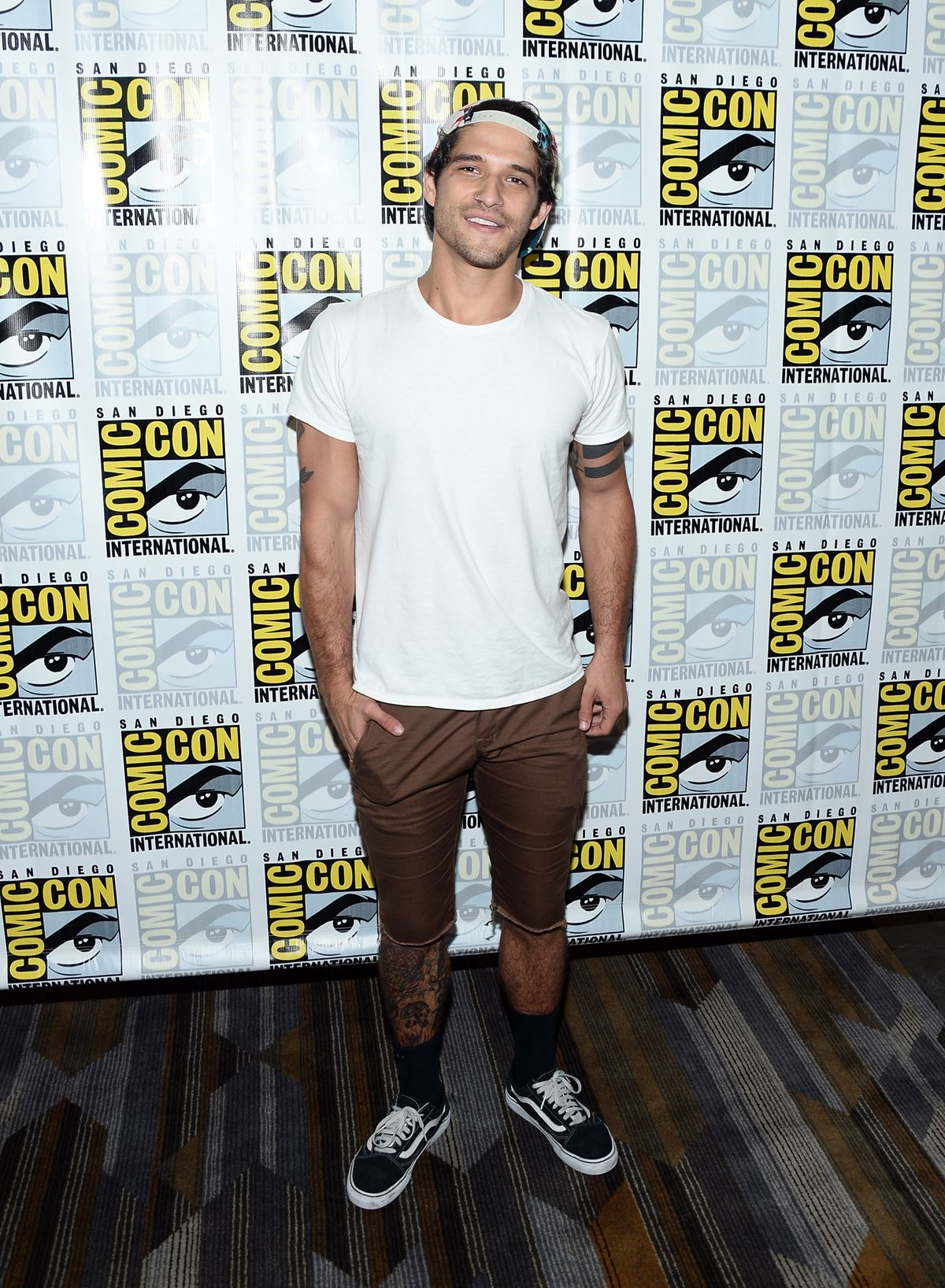 **Tyler Posey** was there, being his adorable self, as per usual.