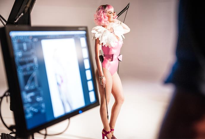 K-Pez behind the scenes for Mad Love. *Image: The Ragsy*
