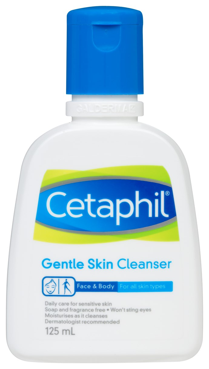 Cetaphil's Gentle Skin Cleanser will totally do the job.