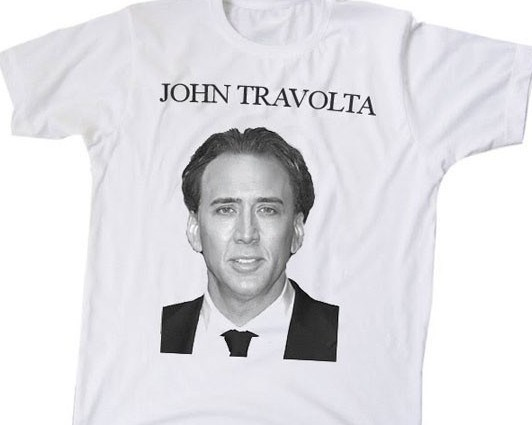 That's defs not John Travolta.