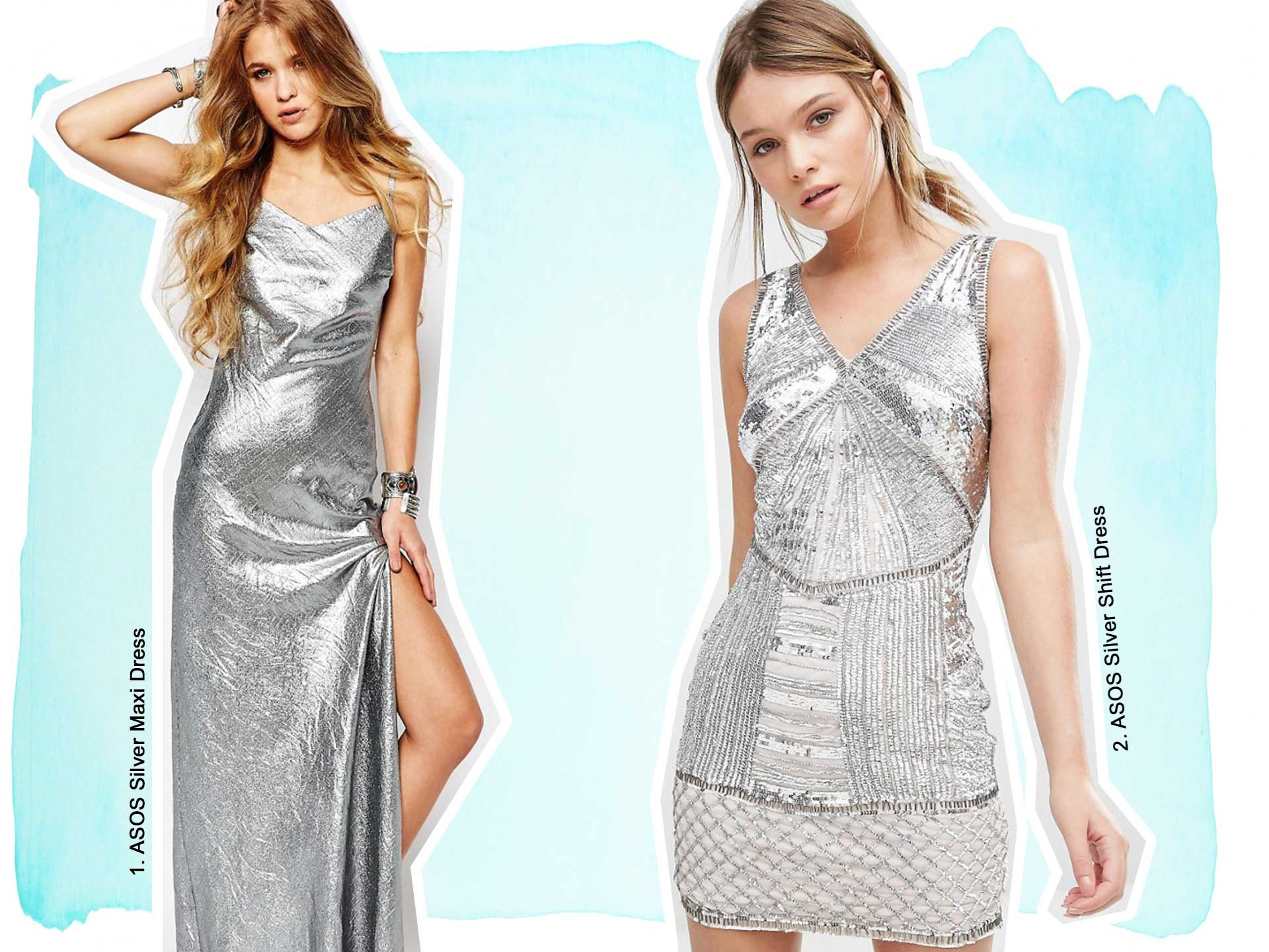 "**CINDERELLA** [**1.** ASOS Silver Maxi Dress](http://www.asos.com/au/reclaimed-vintage/reclaimed-vintage-maxi-cami-dress-in-festival-metallic/prod/pgeproduct.aspx?iid=6249743&clr=Silver&SearchQuery=silver+dress&pgesize=36&pge=0&totalstyles=91&gridsize=3&gridrow=9&gridcolumn=2|target=""_blank""