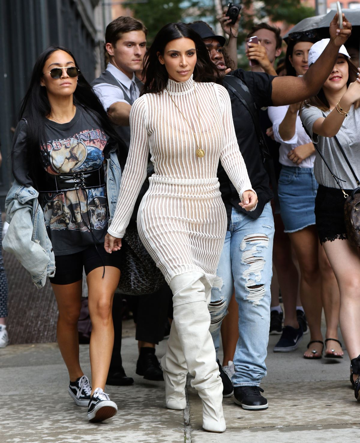"""You know that saying, """"the world is your catwalk"""" ? Kim lives by that."""