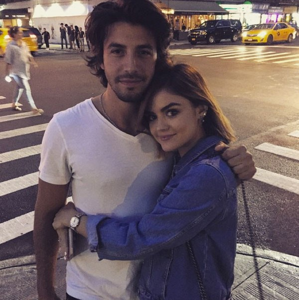 **STILL DATING:** Lucy Hale and Anthony Kalabretta, a lowkey but HOT musican.