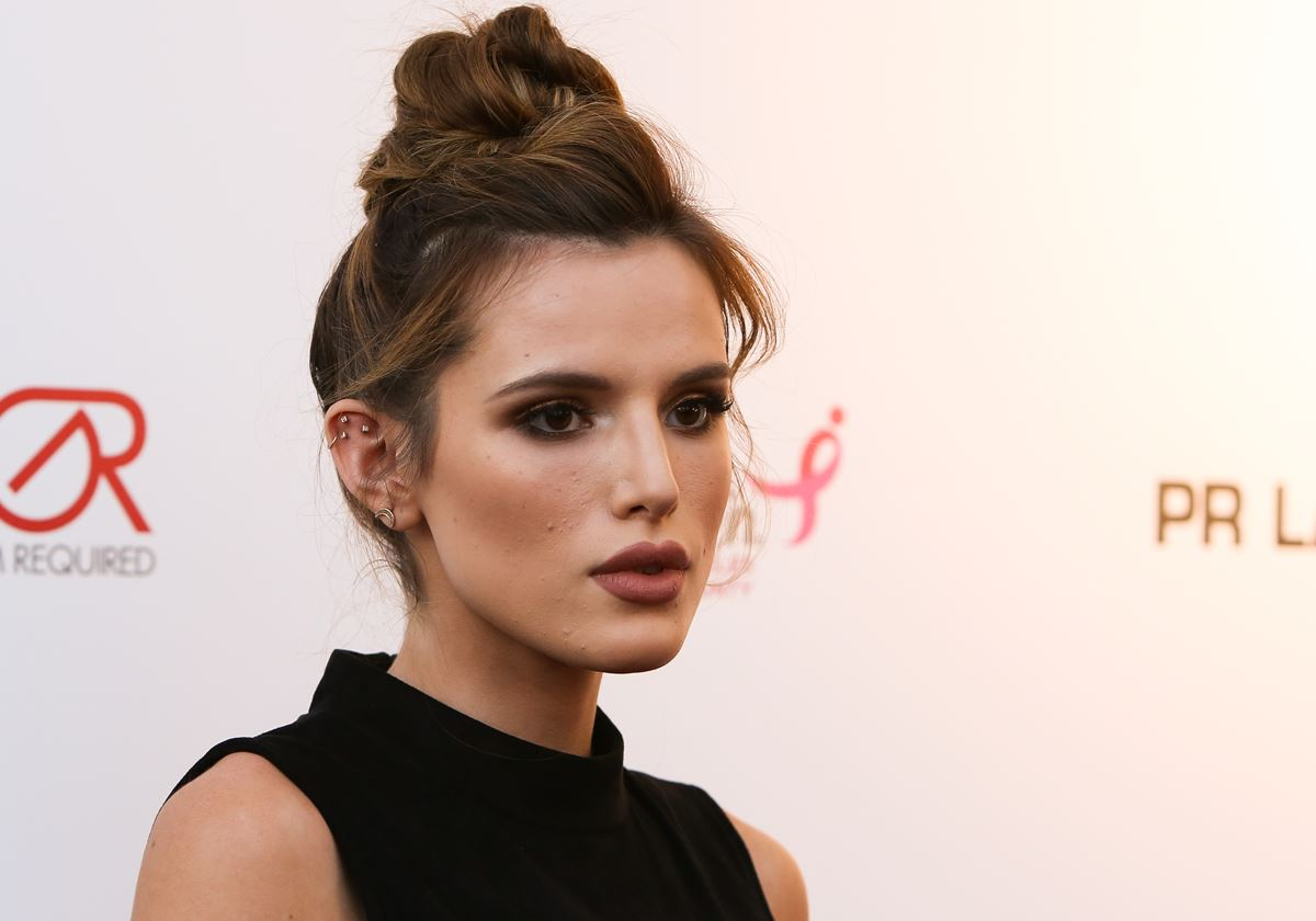 "Actress Bella Thorne admits she's been on a journey to embracing her skin after dealing with dermatitis [an inflammation of the skin, which causes it to break out into a rash]. Bella says her and her sister both struggle with acne but they have learnt to be confident in their skin. ""I love my scars. I love my skin. You have to change your mind-set""."