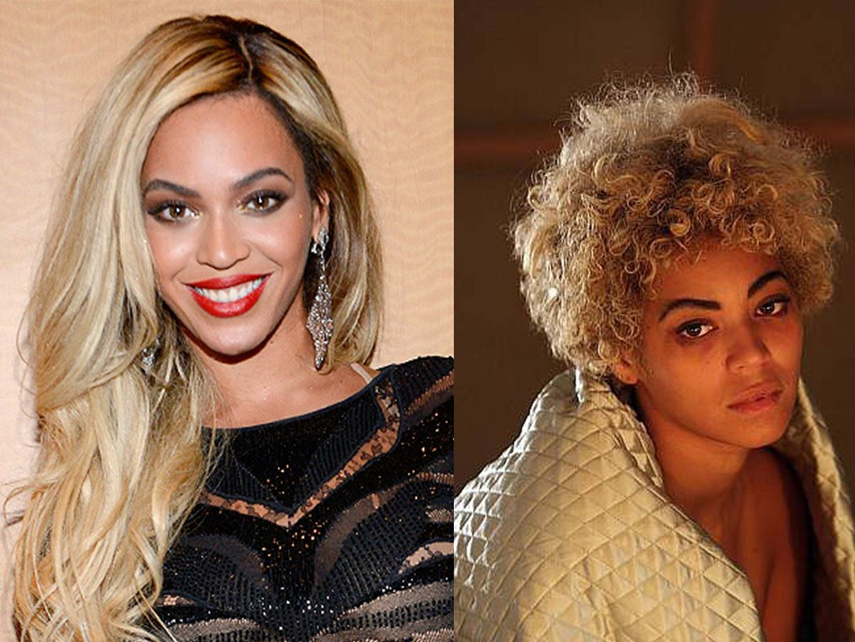 For her role in Etta James' biopic *Cadillac Records*, Bey gained weight and ditched her normally ~glam~ look.