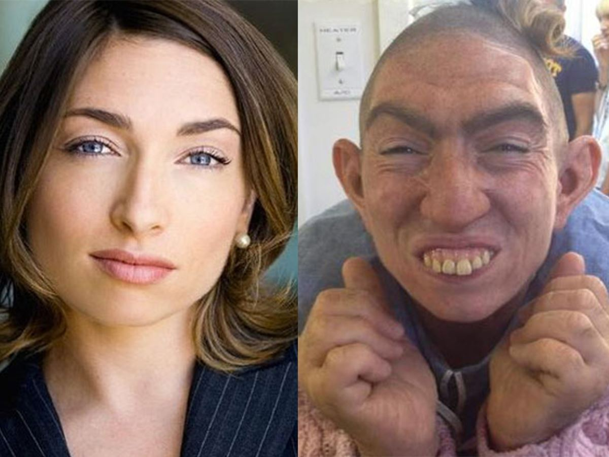 *American Horror Story* actress Naomi Grossman hands down is the real MVP. She shaved her head, wore facial prosthetics, fake teeth and really became Pepper.