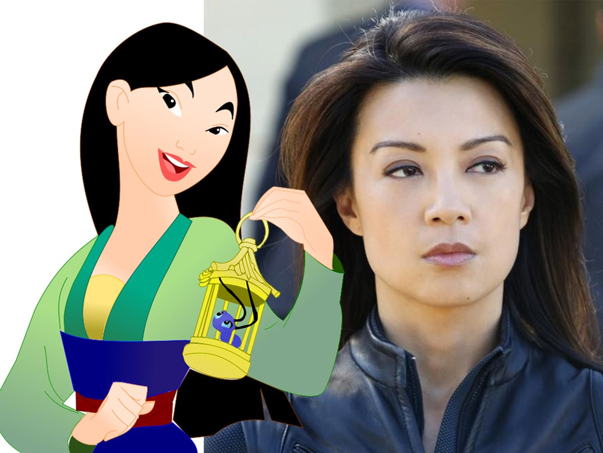 **Mulan, voiced by Ming-Na Wen**