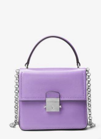 Mia French Calf Shoulder Bag
