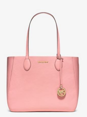 Mae Soft Leather Carryall Tote
