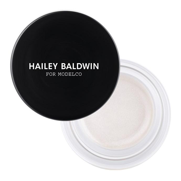 ModelCo Hailey Baldwin On-The-Glow Cream Highlighter in Spotlight, $45.