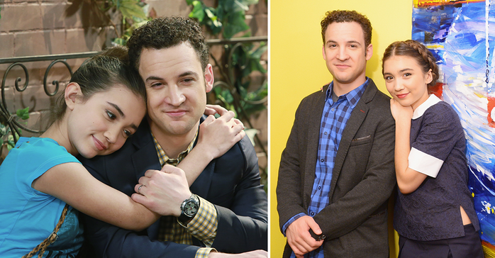 On and off-screen, this father/daughter duo is all love.