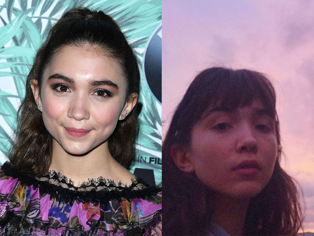 Rowan Blanchard is channeling Audrey Hepburn with her new front fringe!