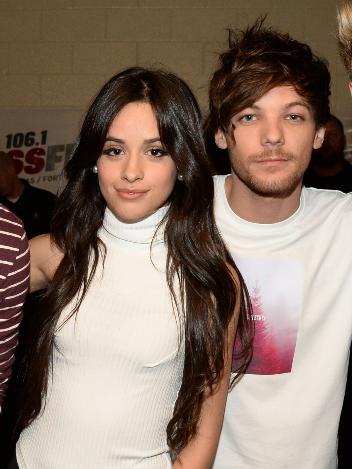 **Louis Tomlinson** After Louis and Camila were spotted outside of an LA nightclub together, the dating rumors were running rampant. Now, they couldn't run in more different social circles. Louis is currently dating his Eleanor Calder who he was in a relationship with years ago before he got together with Briana Jungwirth. He is a daddy to baby Freddie Tomlinson and is working with Steve Aoki to create some awesome solo music as One Direction continues their hiatus.