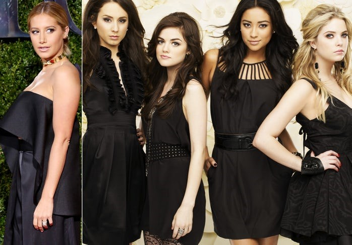 **Ashley Tisdale turned down the chance to audition for Pretty Little Liars.**  She wanted to focus on her show *Hellcats*.