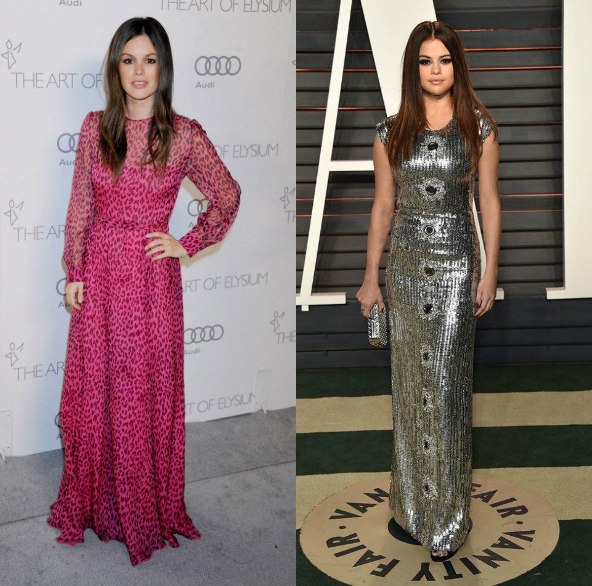 Rachel Bilson a Selena Gomez