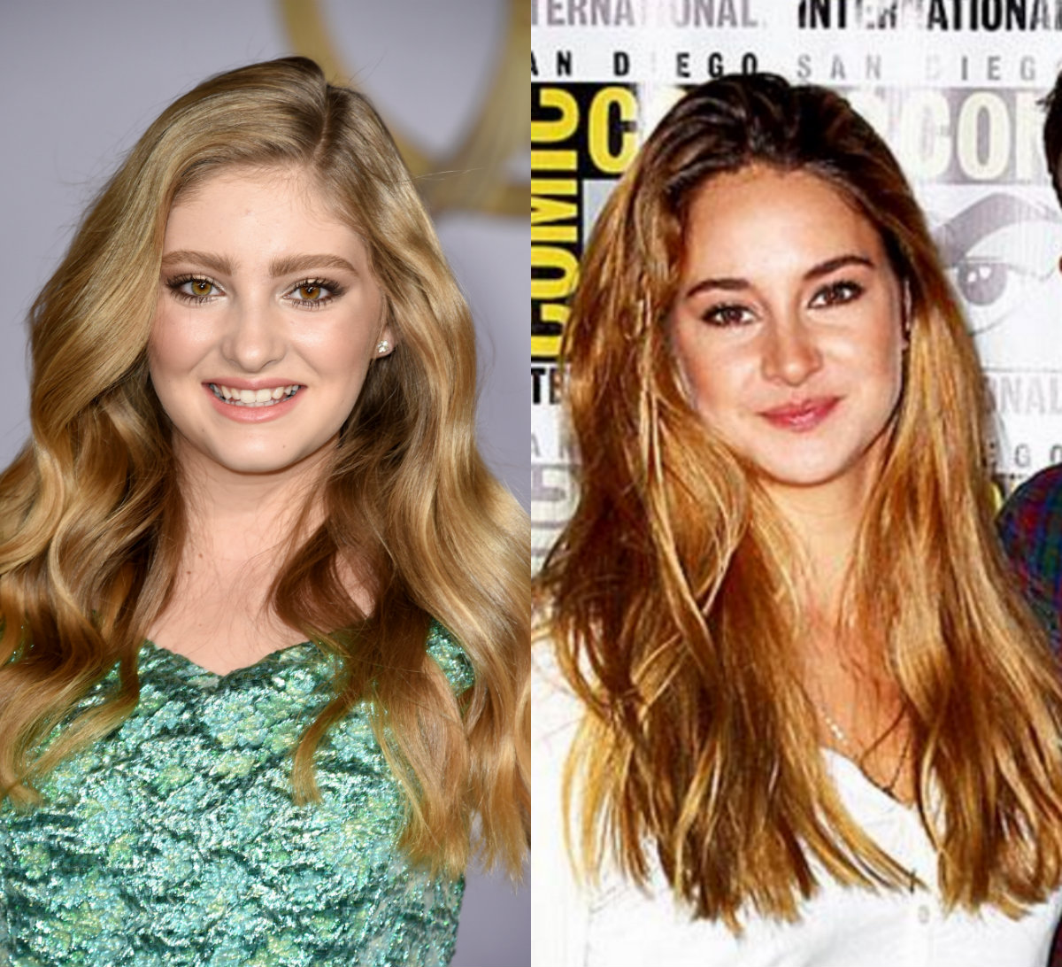 Willow Shields a Shailene Woodley