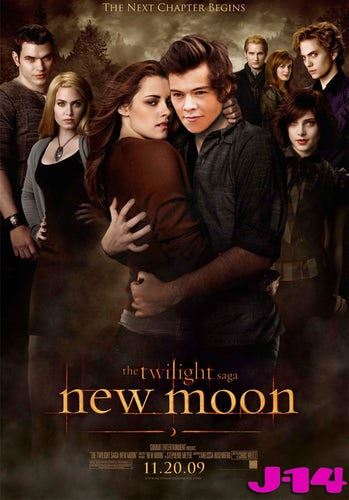 **Edward in New Moon**  We're campaigning for a Twilight reboot just so that Harry can play Edward — it'd be magical!