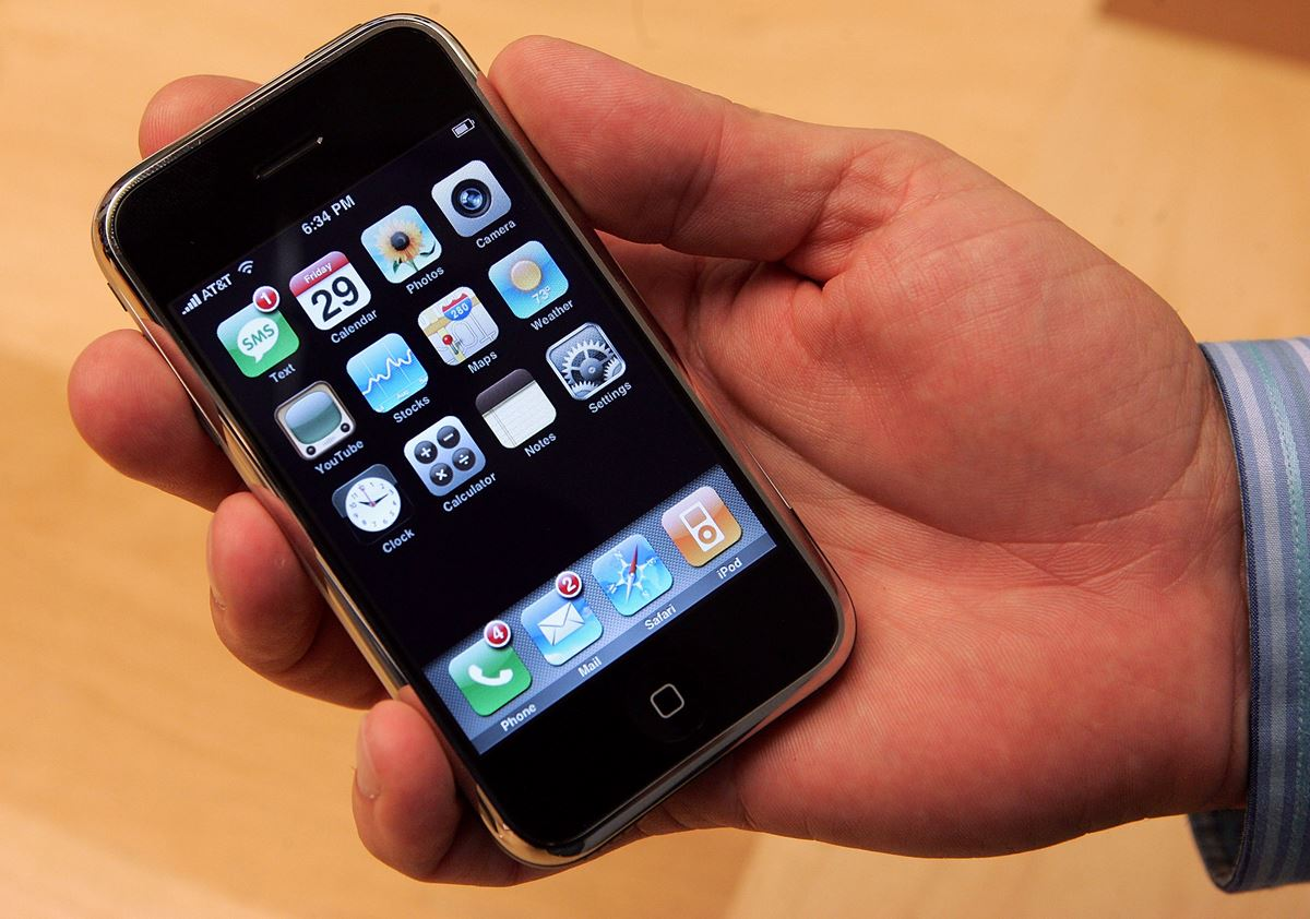 **The first-ever iPhone debuted**  And we never looked back.