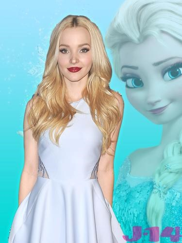 "**Dove Cameron: Elsa**  ""I always hesitate to say that my favorite princesses are the new ones because I know it's cooler to be like, 'I like the OG people,'"" Dove said. ""But I really love Elsa and Anna and Rapunzel. I like the recent ones because I think they're goofier. They're weirder. As we as a society get weirder, I think they follow us. That's cool."""