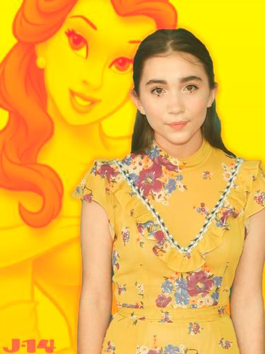 "**Rowan Blanchard: Belle**  A fitting match for the feminist actress! Rowan Blanchard tweeted that she got the book-loving beauty in a ""Which Disney Princess are you?"" personality quiz, and was ALL of us when you get your preferred results: ""SHES MY FAVE DISNEY PRINCESS SO I HAD TO POST IT."""