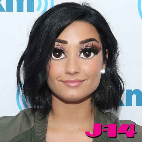 **Demi Lovato: ** Is it just us, or are the big eyes starting not to look so bad?