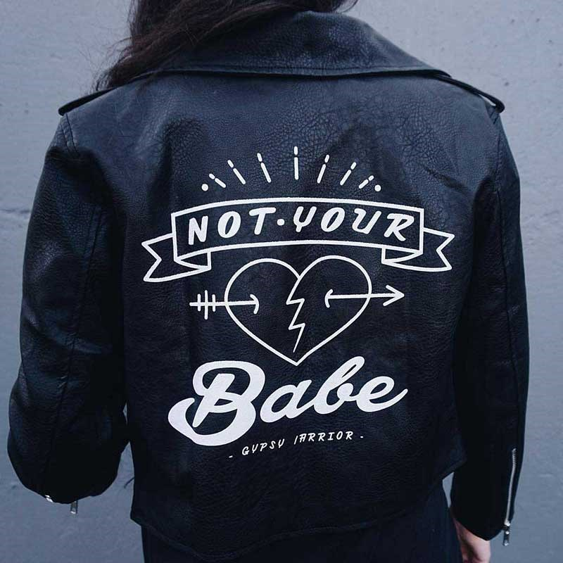 Get ready for painting to take over your Insta-feed as this is the next big personalisation trend following monogramming and embroidery. The location of choice? Your hero leather jacket. Here *ELLE* rounds up 12 pictures which will make you want to paint your badass outerwear, stat.