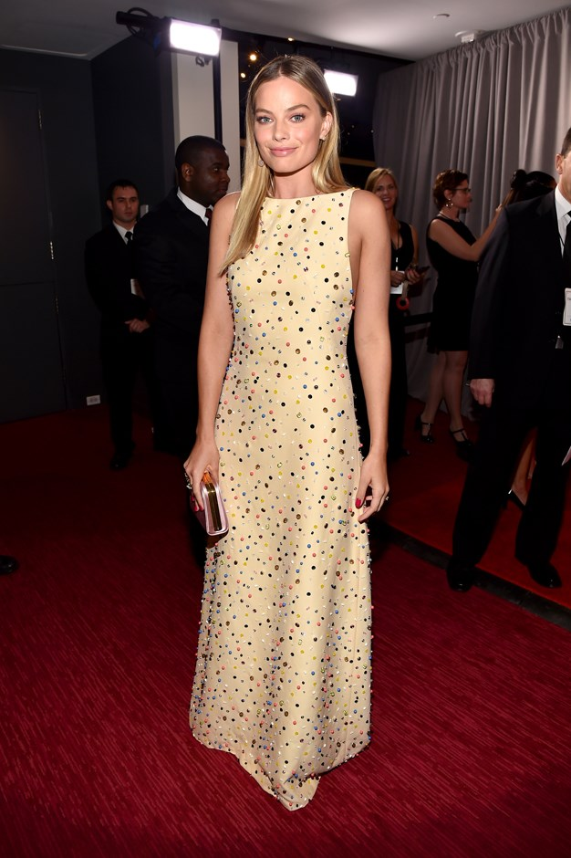 Margot Robbie in Prada.
