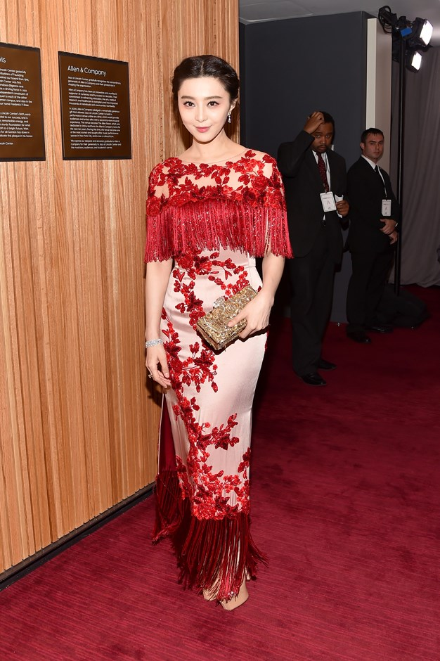 Fan Bingbing in Marchesa.