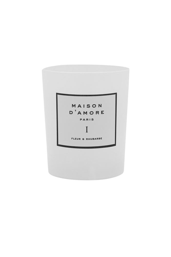 Gift her with this gently floral and fruity candle (and perhaps one for yourself, too).  *Candle, $95, Maison D'Amore at [The Undone](https://www.theundone.com/collections/maison-d-amore/products/fleur-and-rhubarbe?variant=24550723911)*