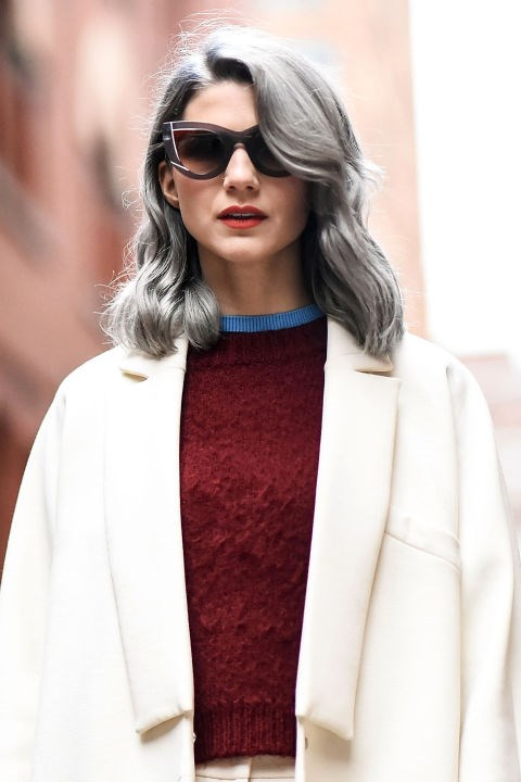 """""""My personal rule is to always to buy the best you can afford,"""" Kingham says. """"For example, when buying a navy cashmere sweater, the first one you purchase might cost around $100. You love it and wear it all the time. So the next one you purchase is a little more—maybe $500."""" Over time, you will redefine what is """"worth it,"""" and in turn, what isn't. """"It is a journey of luxury investment,"""" she says."""